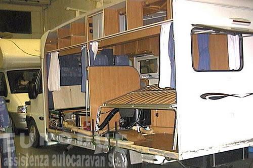 Riparazioni camper caravan autocaravan roulottes eurodue s.r.l. ...